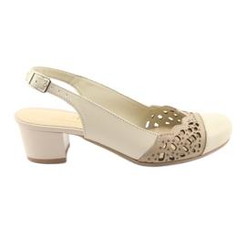 Sandales femmes Gregors 771 beiges brun