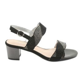 Sandales sur le poste de Sergio Leone SK795 noir