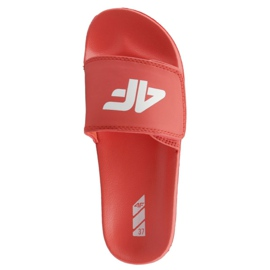 Chaussons 4F Jr J4L19-JKLD200 62S rouge
