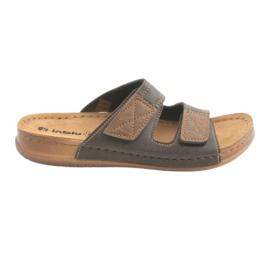 Brun Chaussures homme Inblu TH015 marron