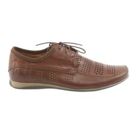 Brun Chaussures de sport pour hommes Riko 694 marron
