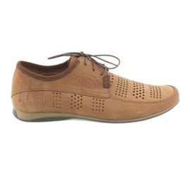 Chaussures de sport pour homme Riko 694 brun clair