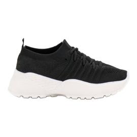 Sneakers Vices à fentes noir