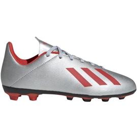 Chaussures de football adidas Nemeziz 19.4 FxG EF8292 gris