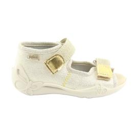 Chaussures enfant jaune Befado 342P003