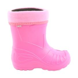 Befado chaussures pour enfants galosh rose 162