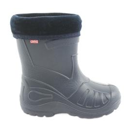 Marine Befado chaussures pour enfants kalosz- grenat 162P103