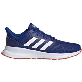 Chaussures de running adidas Runfalcon M EF0150 bleu