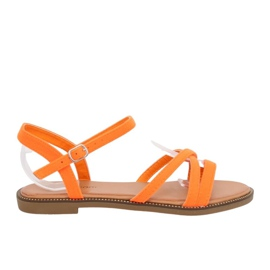 Sandales pour femmes orange WL255 Orange