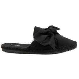 Noir Pantoufles VICES intégrées