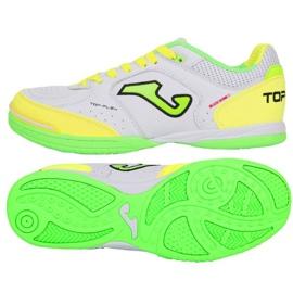Chaussures d'intérieur Joma Top Flex 920 In TOPW.920.IN blanc, vert, jaune blanc