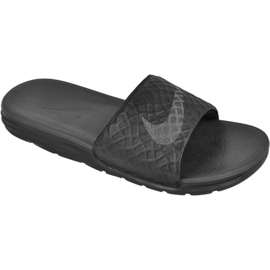 Noir Chaussons Nike Sportswear Solarsoft Benassi M 705474-091