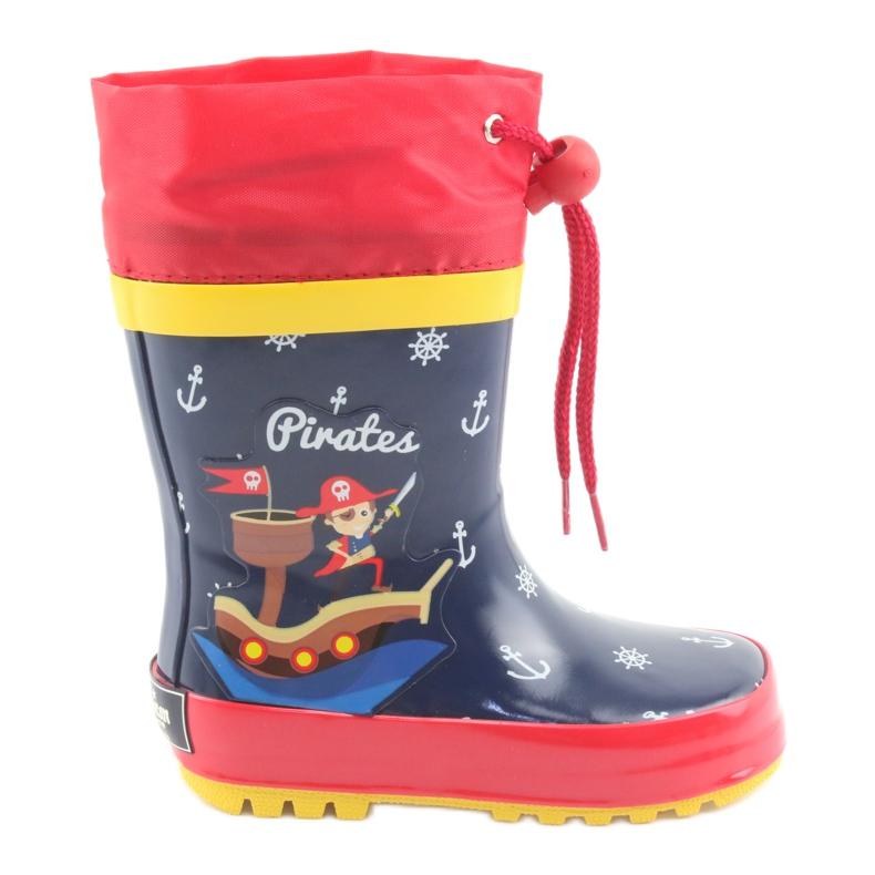 American Club Bottes de pluie pour enfants américains Pirate