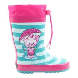 American Club Bottes de pluie pour enfants américains Kitten