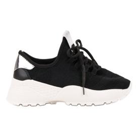 Vices noir Chaussures de sport en textile