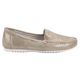 Goodin Mocassins confortables gris