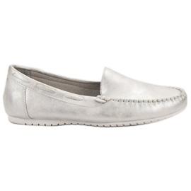 Goodin gris Mocassins confortables