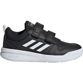 Noir Adidas Tensaur C Jr. EF1092 chaussures