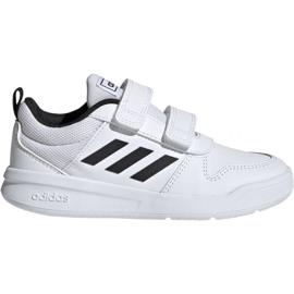 Blanc Adidas Tensaur C EF1093 chaussures