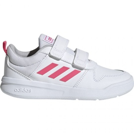 Blanc Adidas Tensaur C EF1097 chaussures