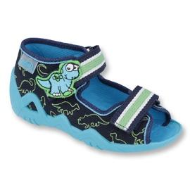 Befado vert chaussures pour enfants 250P088