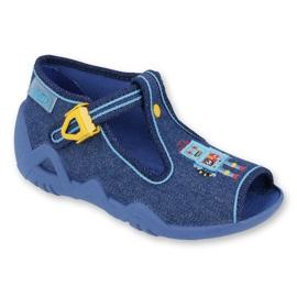 Bleu Befado chaussures pour enfants 217P103