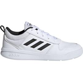 Blanc Adidas Tensaur K Jr. EF1085 chaussures