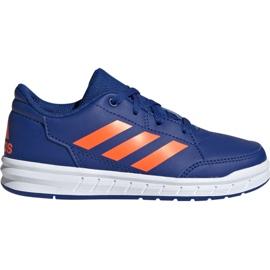Bleu Adidas AltaSport K Jr G27095 chaussures