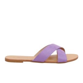 Chaussons Femme violet 930 Violet pourpre