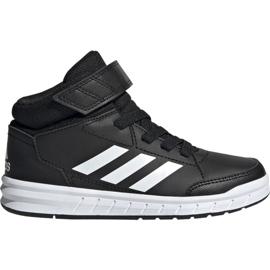 Noir Chaussures Adidas AltaSport Mid K Jr G27113