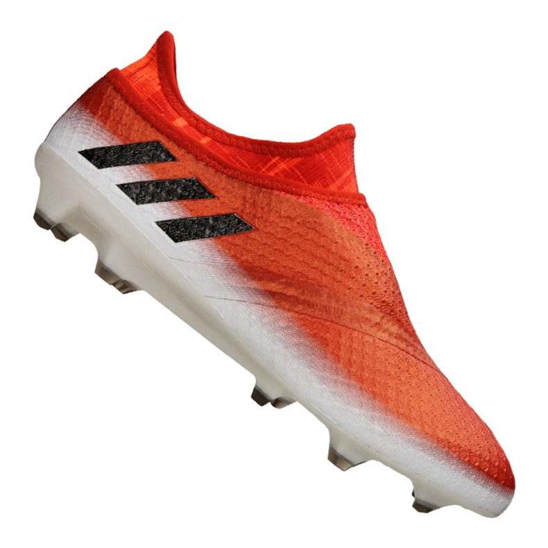 Chaussures de foot adidas Messi 16+ Pureagility Fg M BB1870 rouge rouge