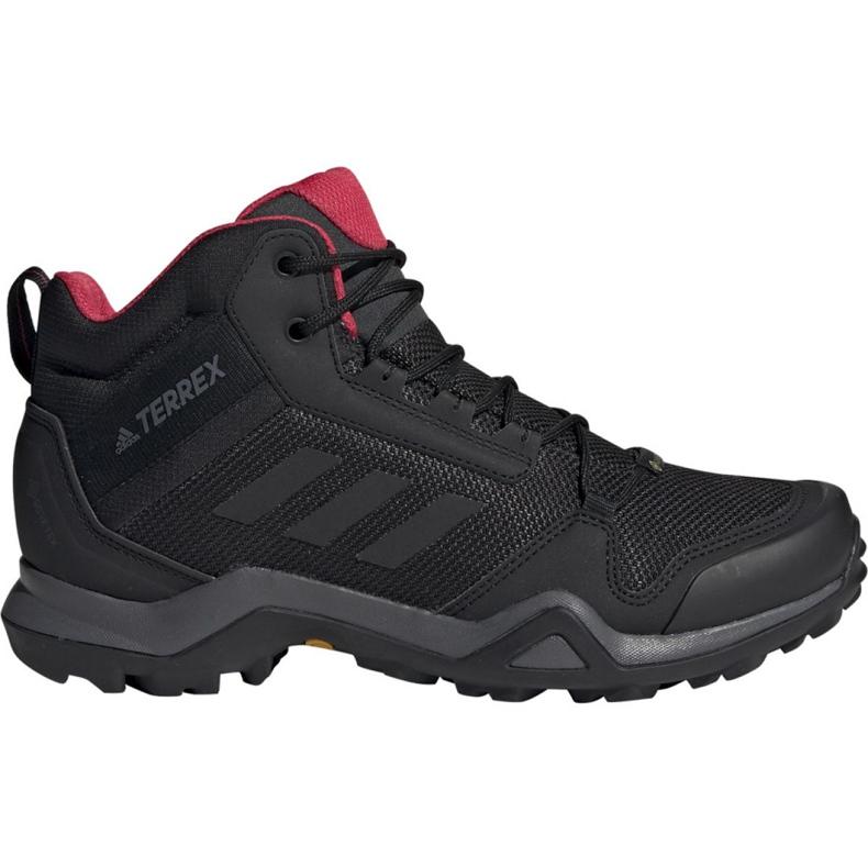 Adidas Noir Bc0590 Ax3 Trekking Mid Terrex W Chaussures Gtx XPZkui