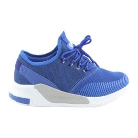 Chaussures de sport pour homme DK 18470 bleu royal