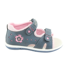 Sandales fille American Club DR20 denim