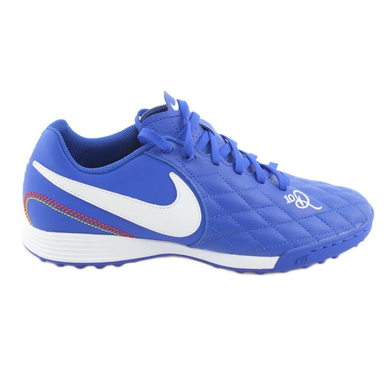 Chaussures de football Nike Tiempo Legend 7 Academy 10R Tf M AQ2218-410 bleu