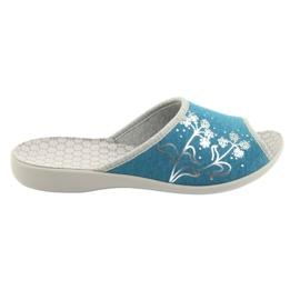 Bleu Befado chaussures pour femmes pu 254D102