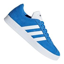 Bleu Adidas Vl Court 2.0 Jr F36376 chaussures