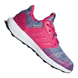 Rose Chaussures Adidas RapidaRun Btw Jr AH2603