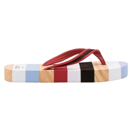 Ax Boxing Tongs sur plateforme multicolore