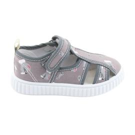 American Club American shoes chaussures pour enfants avec cuir velcro