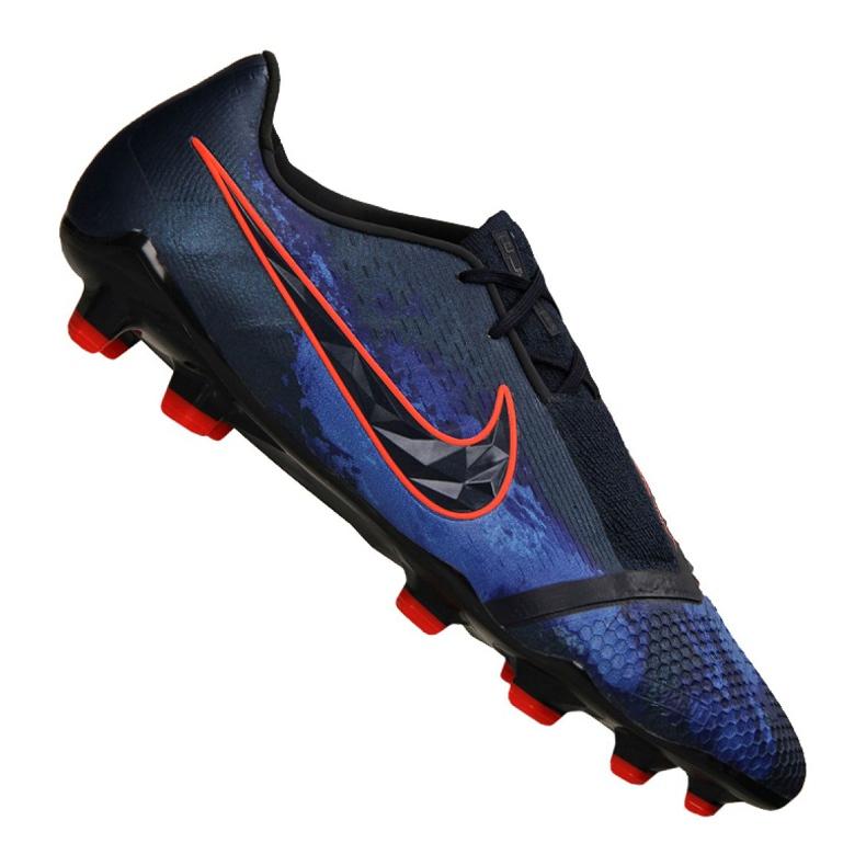 Chaussures de foot Nike Phantom Vnm Elite Fg M AO7540-440 noir noir