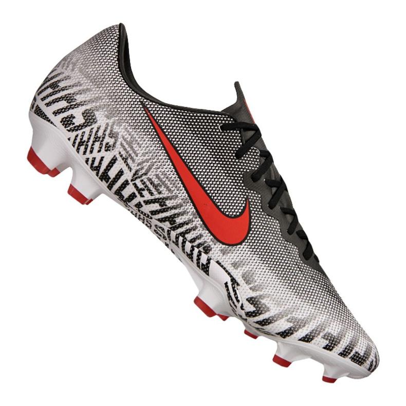 Chaussures de football Nike Vapor 12 Pro Njr Fg M AO3123-170 gris / argent blanc