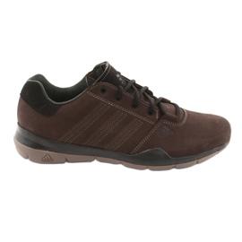 Chaussures trekking adidas Anzit Dlx M18555 brun