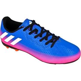 Chaussures de football Adidas Messi 16.4 FxG Jr BB1033 bleu bleu