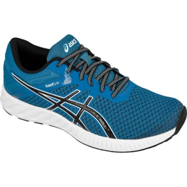 Bleu Chaussures de running Asics fuzeX Lyte 2 M T719N-4990
