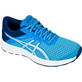 Bleu Chaussures de running Asics fuzeX Lyte 2 W T769N-4393