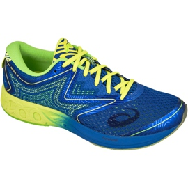 Bleu Chaussures de course Asics Noosa Ff M T722N-4507