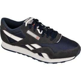 Marine Reebok Classic Nylon M 39749 chaussures