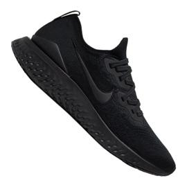 Noir Chaussures de running Nike Epic React Flyknit 2 M BQ8928-011