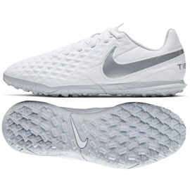 Chaussures de football Nike Tiempo Legend 8 Club Tf Jr AT5883-100